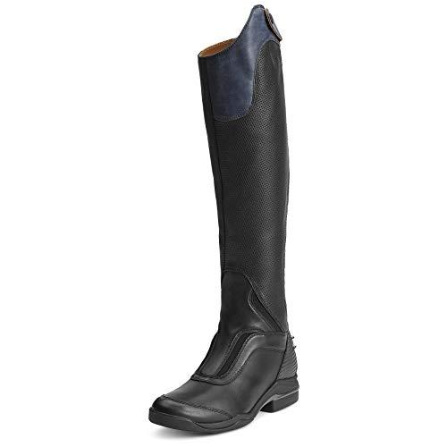 ARIAT Women's V Sport Zip Tall Riding Boot Black Size 7 B/Medium Us