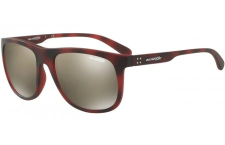 Arnette Sunglasses Model AN4235 24635A 56 Matte Dark Brown Havana/Light Brown Mirror Dark - Arnette Aviators