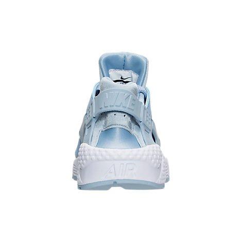Nike WMNS AIR HUARACHE RUN zapatillas de moda para mujer 634835-407_9.5 - SOLAR ROJO / NEGRO