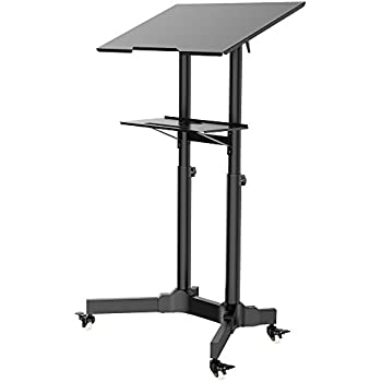 Amazon Com 1homefurnit Mobile Table Laptop Desk Stand