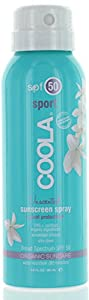 Coola travel continuous spray spf 50 unscented 3oz