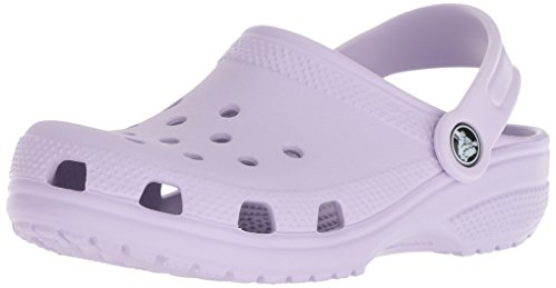 Crocs Kids' Classic Clog, Lavender, 1 M US Little Kid ()