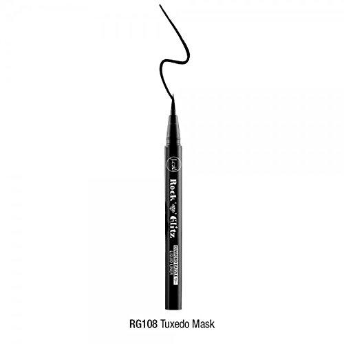 J Cat Rock 'N' Glitz Diamond Dazzle Liquid Eye Liner 8 Shades (RG108 Tuxedo Mask) ()