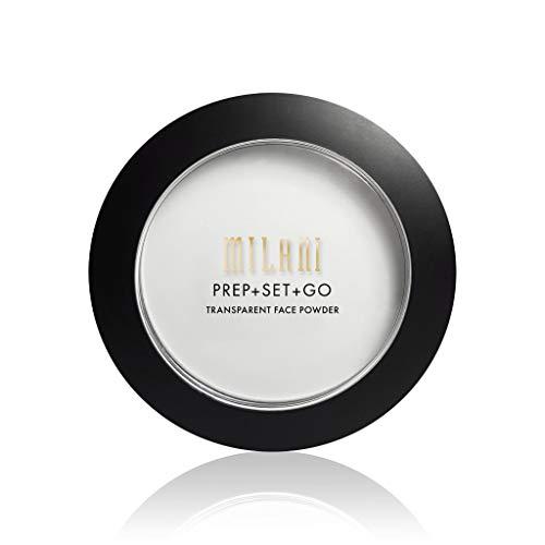 Milani Prep + Set + Go Transparent Face Powder (0.3 Ounce) Cruelty-Free Primer & Setting Powder - Control Shine & Set Makeup for Long-Lasting Wear