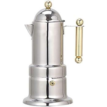 Amazon.com: Gocheaper Cafetera de acero inoxidable para café ...