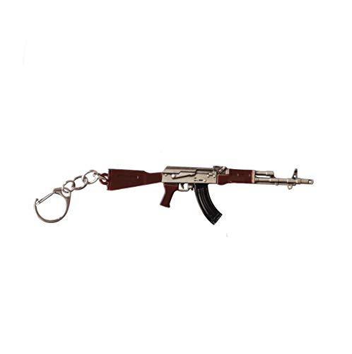 Pubg AKM gun keychain Solid Metallic india 2020