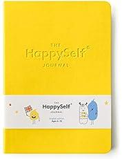 The HappySelf Journal - Diario diario para niños de 6 a 12 años para promover la felicidad, desarrollar hábitos positivos y nutrir mentes inquietantes (versión en inglés)