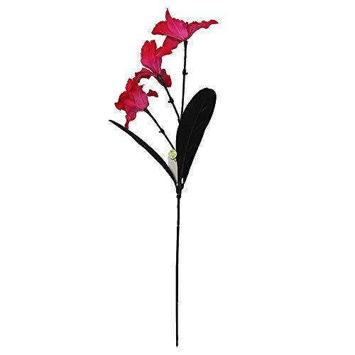 MARJON Flowers3 Head Cymbidium Orchid Spray - Artificial Silk Flowers Stem -