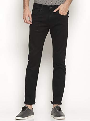 Ojass Slim Men Black Jeans