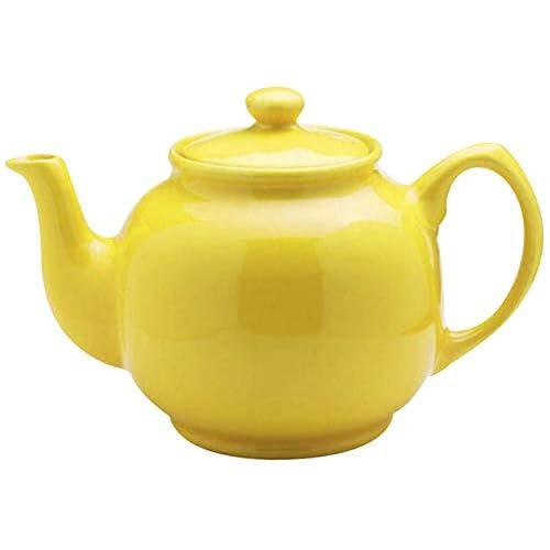 Price & Kensington Brights 6 Cup Yellow Teapot