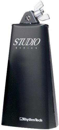Rhythm Tech Handheld Cowbell, Black, 8'' (RT3008) by Rhythm Tech
