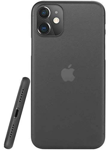 Egotude Ultra Thin Matte Anti Scratch Slim Fit Back Cover Case for iPhone 11 (iPhone 11, Black) (B07ZHGMTJ2) Amazon Price History, Amazon Price Tracker