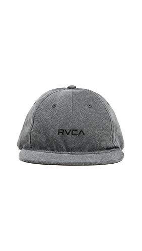 RVCA Men's TONALLY Low Cap, Black Haze, One Size