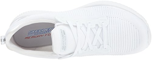 Femme Squad Photo Bobs Baskets Skechers Enfiler Blanc Frame 6FqBA4
