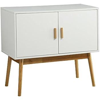 Amazon Com Manhattan Comfort Avesta Double Side Table 2 0