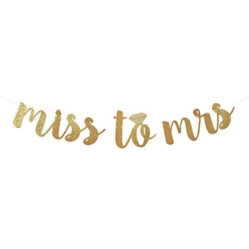 Best Prices! From Miss to Mrs Banner | bachelorette party | bridal shower | engagement party | weddi...