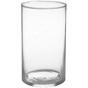 Amazon Com Candles4less 4 Quot X 6 Quot Cylinder Vase Home Amp Kitchen