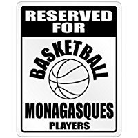 fan products of Reserved for Basketball Monaco Players - Countries - Parking Sign [ Decorative Novelty Sign Wall Plaque ]