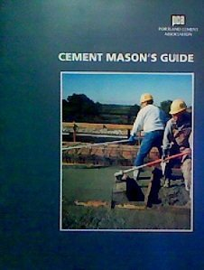 Cheap  Cement Mason's Guide: To Building Concrete Walks, Drives, Patios, and Steps