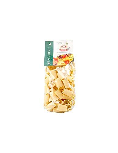 PACCHERI FIORILLO 500GR PASTA ITALIANA GOURMET EXTRUIDA EN BRONCE: Amazon.es: Alimentación y bebidas