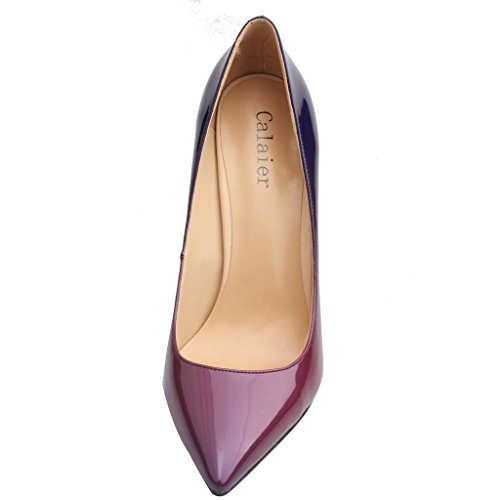 Calaier  Cause, Damen Pumps Purple gradient B