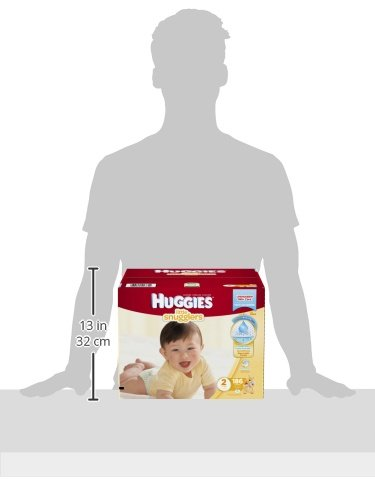 Large Product Image of HUGGIES Little Snugglers Baby Diapers, Size 2, for 12-18 lbs., One Month Supply (186 Count), Packaging May Vary