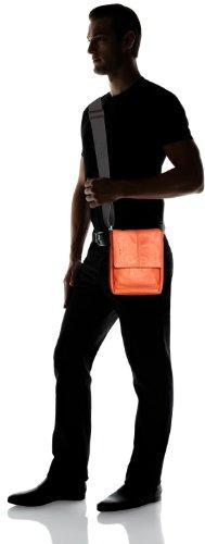 Bugatti Bags Messenger Bag John D Hochformat Klein, braun, 18 x 23 x 8 cm, 3 liters, 49538502 Orange