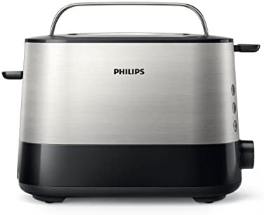 Philips Viva Collection Toaster HD2637/91-Black: Buy Online at