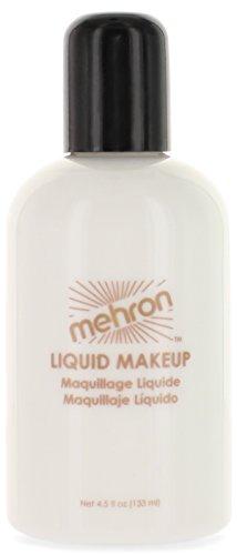 Mehron Makeup Liquid Face & Body Paint, WHITE - (Liquid Latex Stories)