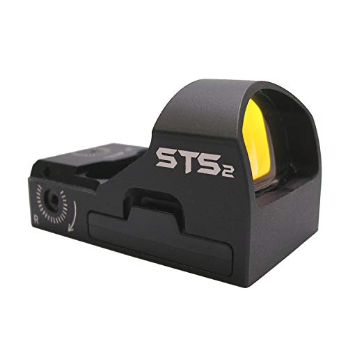 C-MORE Systems STS2 Super Bright 6 MOA Red Dot Sight, Black (Red Dot Sight For Fnx 45 Tactical)