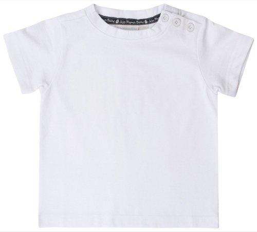 JoJo Maman Bebe Classic T-Shirt (Baby)-White-12-18 Months
