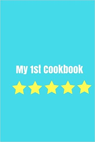 my 1st cookbook create your own cookbook children s cookbook fill