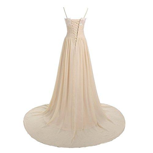 Aiyana Longues Robes De Soirée Robes De Bal Rose Lacent