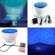 Proyector luz oceano Light Ocean Daren Waves Projector con altavoz