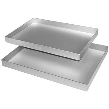 Alan Silverwood Swissroll Pan 13  x 9  x 0 75   Silver Anodised Aluminium. Amazon com  Panettone Pan   Loose Based   6   Round Cake Pans