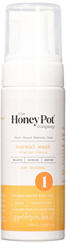 The Honey Pot Normal Intimate Wash, Orange, 5.69 Fluid Ounce by The Honey Pot