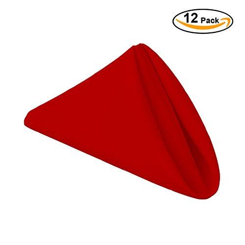 red restaurant napkins - 9