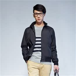 2013 New Style Slim Nylon Stand Collar Zipper Long Sleeve Casual Jacket Men Jackets