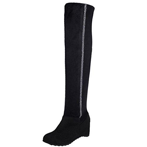 Pull TAOFFEN Long On Black Boots Women's 77O0npq1