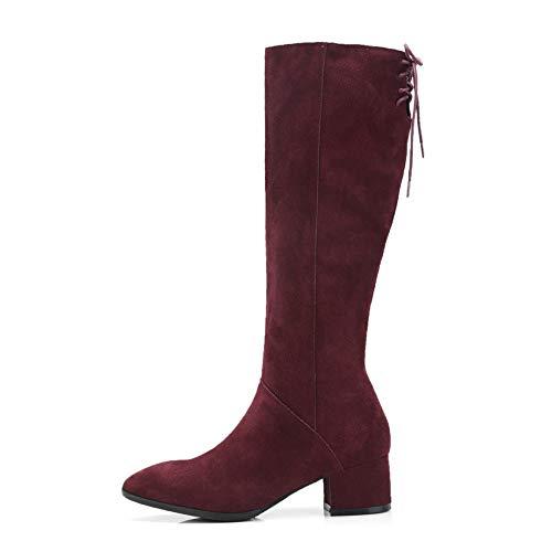 HAOLIEQUAN Frauen Stiefel Plattform Elegant Casual Schuhe Winter Schuhe Frauen Motorrad Stiefel Größe 34-39