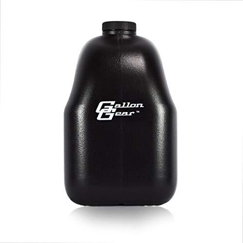 (Gallon Gear Water Bottle (Black, Gallon))