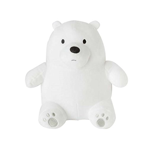 (GivenzoneDolls We Bare Bears Sitting Doll Plush Pillow Cushion Stuffed Toys (Ice Bear))