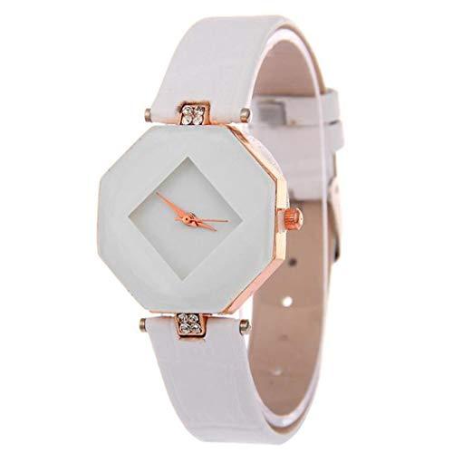 Amazon.com: Women Fashion Quartz Watch Rhombus Mirror Dial Personalized Bracelet Watch: Clothing