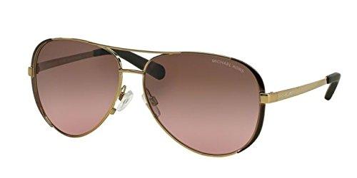 Price comparison product image Michael Kors MK5004 Chelsea Sunglasses, Gold