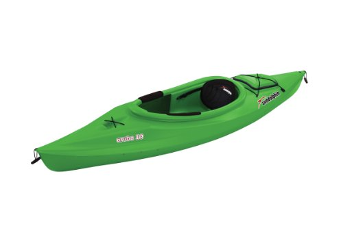 Sun Dolphin Aruba Sit-in Kayak (Lime, 10-Feet) (Kayak Pelican On Sit)