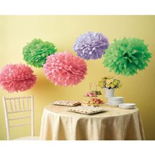 Wilton Martha Stewart Crafts Pom Poms, Color Burst, 2 Sizes by Wilton