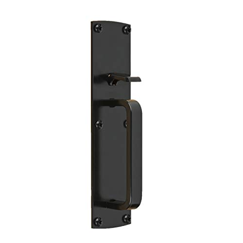Gate Thumb Latch N109-050 by National Hardware in Black