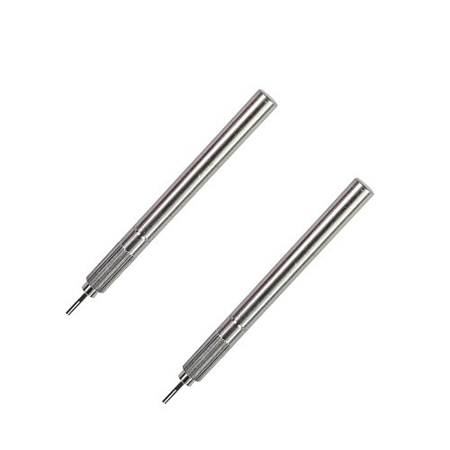 IMISNO Metal Slotted Quilling Paper Tool Paper Origami DIY Paper Quilling Rolling Pen -Pack of 2