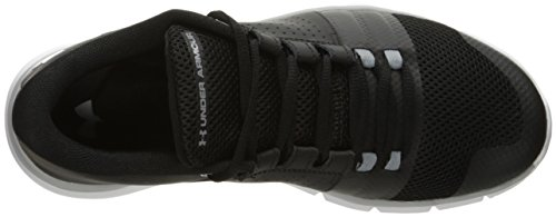 Under Armour Mens Streven 7-2e Zwart (001) / Wit