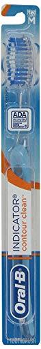 Oral-B Indicator 40 Medium Bristle Toothbrush (Pack of 6), Colors May -